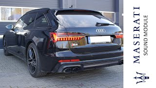 Audi S6 C8 Active Sound Upgrade Module | Sound Booster - Aktywny Wydech | Wydechowe.pl