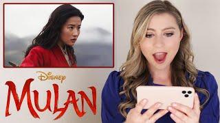 MULAN Official Trailer REACTION!
