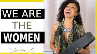 Youtube with Victoria Vives DIVINE FEMININE Medicine Song | WE ARE THE WOMEN ~ Victoria Vives sharing on Become Your Divine Self