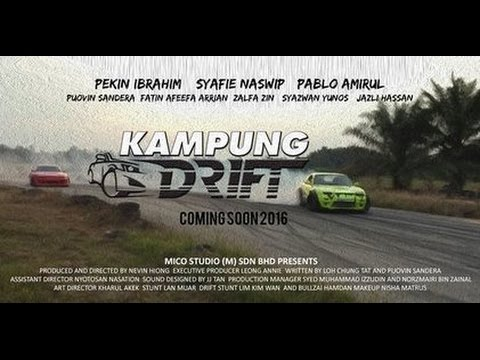 "Kampung Drift ""Initial G"" - Movie Review"