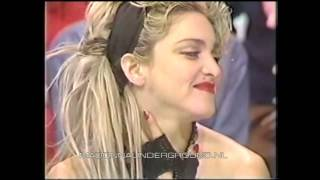 Madonna performs Like a Virgin on Japan TV and sits down for an interview HD