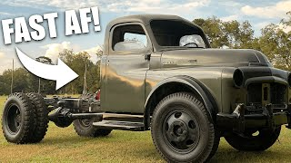 Mater HAULS A**! We Test Out My 70 Year Old Dodge Trucks 2-Speed Rear Axle!!