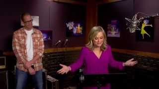 """Pixar's Inside Out: Amy Poehler """"Joy"""" Behind the Scenes Voice Recording"""