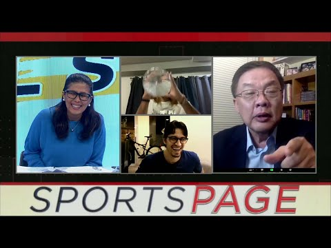 [Sport5]  June Mar Fajardo and Marc Pingris' interview bloopers