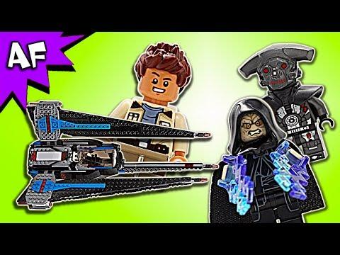 Vidéo LEGO Star Wars 75185 : Tracker I