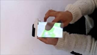 iPhone5対応らくらく操作ルーペ