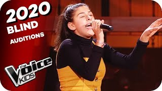 Tones and I - Dance Monkey (Suzan)   The Voice Kids 2020   Blind Auditions