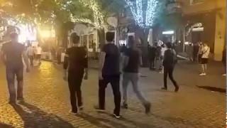 Массовая драка в Одессе на Дерибасовской 06 05 2017