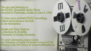 Archived KUAC radio programs now available