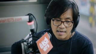"Ebe Dancel performs ""Tulog Na"" (Live) on Wish 107.5 Bus"