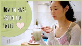 How to make Green Tea (Matcha) Latte | Simple Recipe