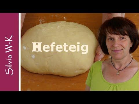 Hefeteig - Grundrezept - Herstellung - süß