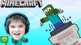 Minecraft Monster Crushers Build by HobbyKidsGaming