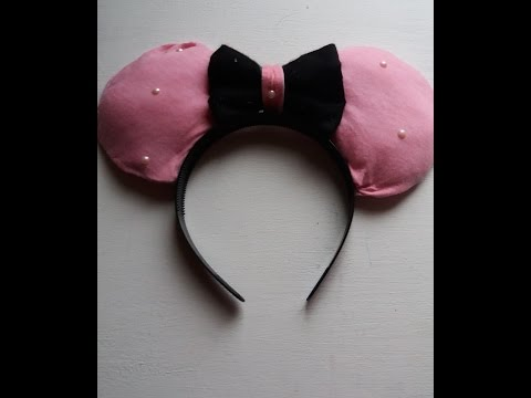DIY Mickey oder Minnie Maus Ohren mit Outtakes| Jo Journal