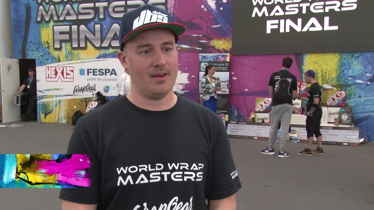 <p>Jonas Sjöström won third place in the World Wrap Masters Finals 2019 in Munich Germany. Jonas shares his thoughts with FESPA after his win.</p>
