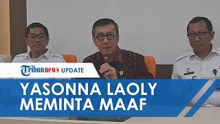 Diprotes Warga Tanjung Priok, Menkumham Yasonna Laoly Akhirnya Meminta Maaf atas Ucapannya