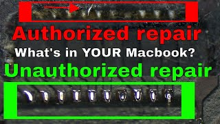 How APPLE AUTHORIZED repair refurbishes Macbooks to FAIL AGAIN! GPU kernel panics