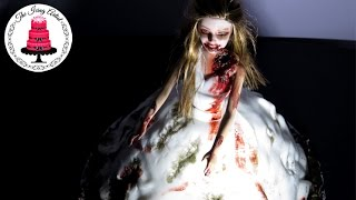 The Walking Dead Zombie Bride Dress Cake - How To With The Icing Artist