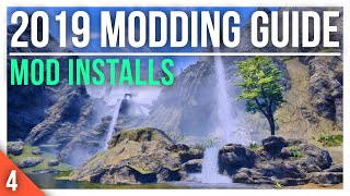How to INSTALL Mods with MOD ORGANIZER 2 | 2019 Skyrim Special Edition Modding Guide