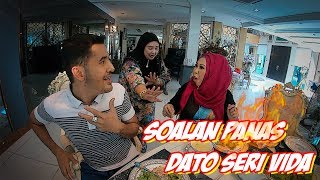 Soalan Panas Dato Aliff Untuk Dato Seri Vida - TV Terlajak Laris