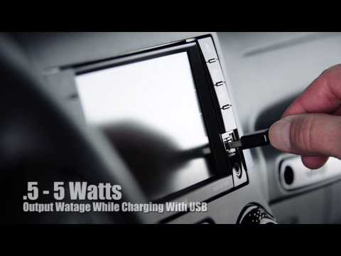 Play Video: Nexus 6 Charging Holder with USB Cigarette Lighter Plug
