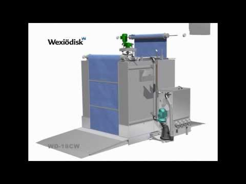 Wexiödisk WD-18 - Roller Door Commercial Trolley Washer