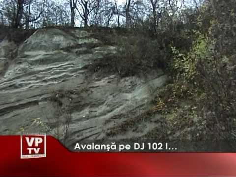 Avalanşă pe DJ 102 I…