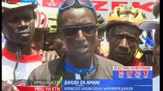 Viongozi wa Uasin Gishu wakiongozwa na Zedekiah Bundotich wahudumisha amani kwa uchaguzi: Mbiu