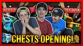 Knights and Dragons - MASSIVE 2017 CHEST OPENING BATTLE!!