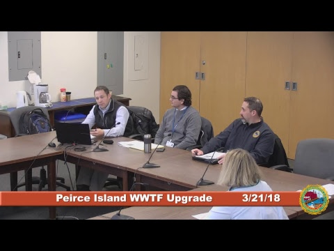 Peirce Island Waste Water Treatment Facility Upgrade 3.21.2018