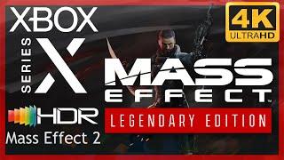 [4K/HDR] Mass Effect Legendary Edition (Mass Effect 2) / Xbox Series X Gameplay