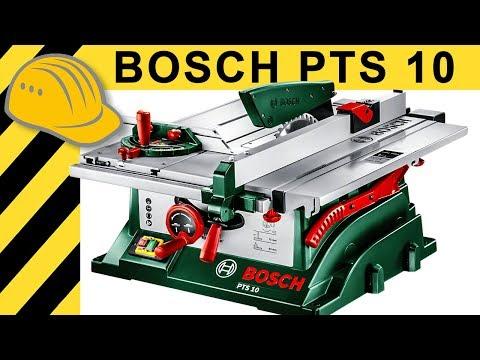 Bosch PTS 10 Tischkreissäge TEST - Was taugt die PTS 10 wirklich?