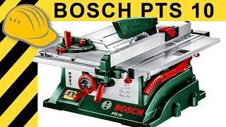Bosch PTS 10 Tischkreissäge TEST   Was Taugt Die PTS 10 Wirklich?