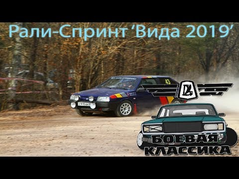 "Ралли - Спринт ""Вида 2019"""