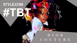 John Galliano's Dior Haute Couture Wedding - #TBT With Tim Blanks - Style.com