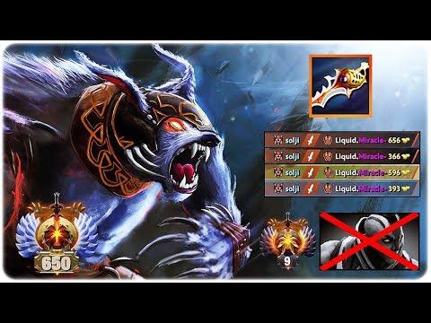 Epic Ursa Delete Miracle Anti-Mage   Ursa Divine RAPIER destroy Miracle Dota 2 7.20