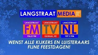 Langstraat Media wenst alle kijkers en luisteraars fijne feestdagen!