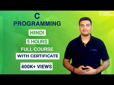 C Programming in Hindi | C Programming for Tutorial for Beginners | Great Learning