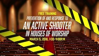 Pastors Forum Spring 2018 - Security Seminar