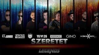 L.L.JUNIOR-HORUS-IGNI-YOUNG G-GOORE-GINO-HEKIII-JBOY (Legends) - SZERETET ( Official Music Video )
