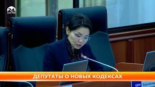 Депутаты озвучили свое мнение о новых кодексах