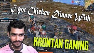 Chicken Dinner With KRONTEN