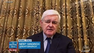 Newt Gingrich Shares Concerns About U.S. Stimulus Package   The View