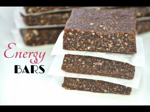 Video Easy Homemade 3-Ingredient Energy Bars | Fablunch