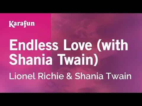 Endless Love (with Shania Twain) - Lionel Richie & Shania Twain | Karaoke Version | KaraFun