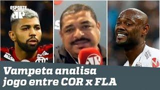 """VAR em Itaquera? Pra quê?"" Vampeta analisa Corinthians 1 x 1 Flamengo!"