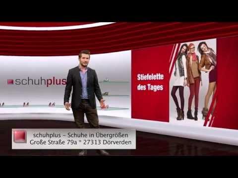 Damen Stiefeletten in Übergrößen. Große Schuhe bei schuhplus. Schuh des Tages - 31.07.2015
