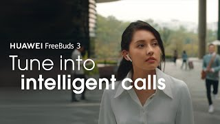 YouTube Video XaTsrMg53Og for Product Huawei FreeBuds 3 Headphones by Company Huawei Technologies in Industry Headphones