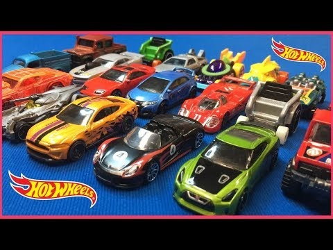 Let's Open New Hot Wheels Cars Toy Unboxing! Porsche, Nissan, And More!