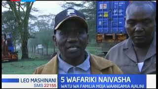Watu wa familia moja waangamia ajalini Naivasha